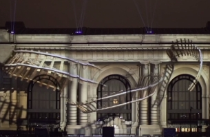 Kansas City's Union Station Comes Alive with a Projection Mapped Spectacle
