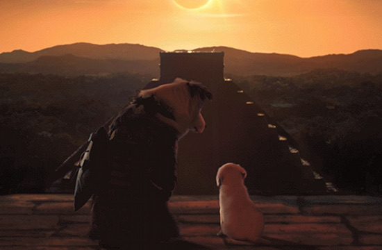 Tomb Raider Becomes Cute Raider for National Dog Day