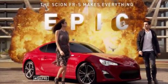 Scion 'Makes Everything Epic' In Campaign By ATTIK