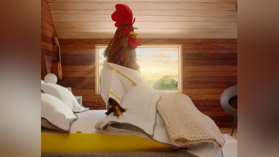 eve sleep's Quirky Animated Spot Gets You Up with 'Le Coq'