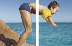 Evian Teams with Underwear Brand Le Slip Français for a Unique New Collection