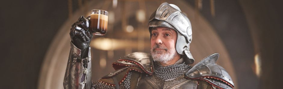 George Clooney and Natalie Dormer Star in Latest Nespresso Campaign, 'The Quest'