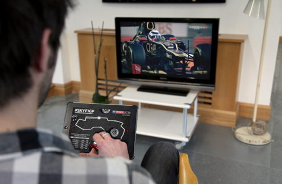 Sky Sports F1's Twitter World First