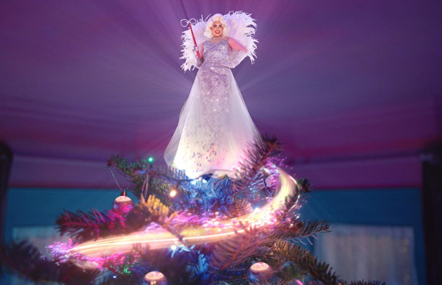 Behind the Scenes of Virgin Media's 'Now That's Christmas-ing' Campaign with Cheryl Hole