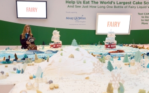 Fairy's Giant Cake Sculpture Smashes Guinness World Record