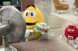 BBDO NY Welcomes Back Crispy M&M's with a Message for the Fans