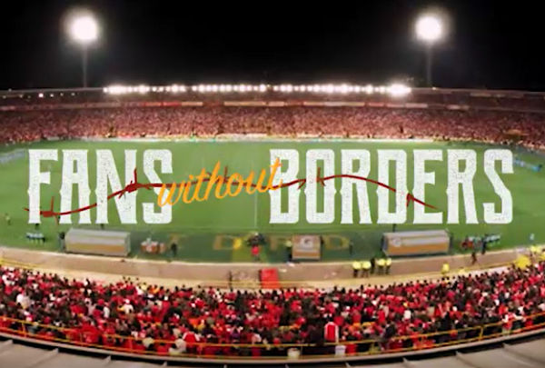Football Is an Agent of Social Change in New #FansWithoutBorders Campaign