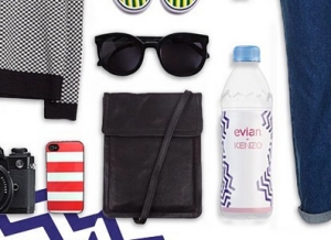 Share a Snap of Fashion with Evian & Kenzo's 'Outfit Grid' Campaign