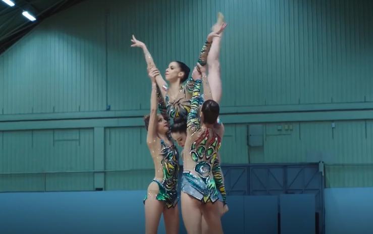 The Italian Rhythmic Gymnastics Team Stars in This New Fastweb Commercial