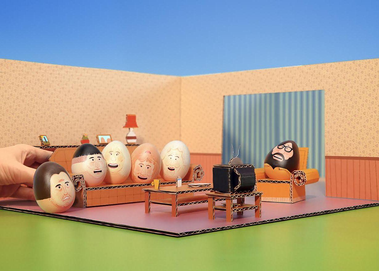 Feed Me Light Wins UKTV Gold Easter Egg Hunt Ad Campaign Work