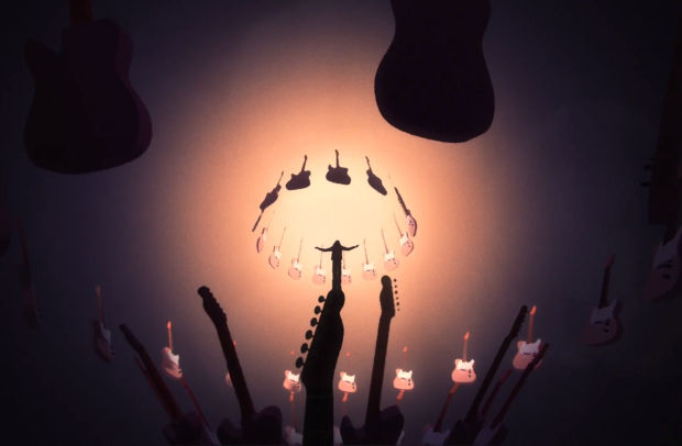 Fender Premieres Psychedelic Animated Short to Celebrate Led Zeppelin's 50th Anniversary