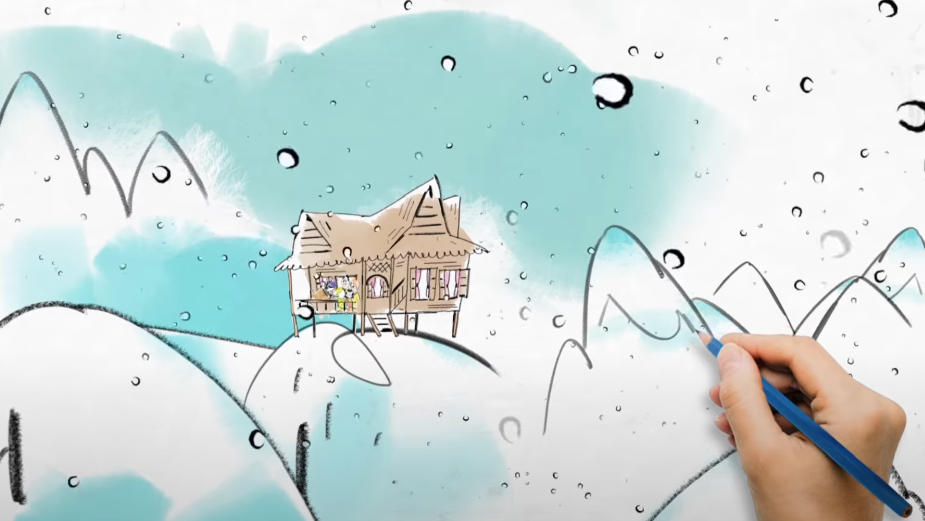 Live Action Meets Animation in Cute Spot Capturing the Essence of the 'Eid al-Fitr' Festival