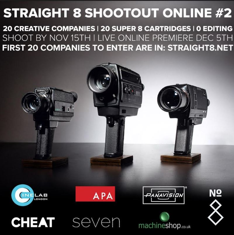 Straight 8 Shootout Online #2 Competition Announces Call for Entry