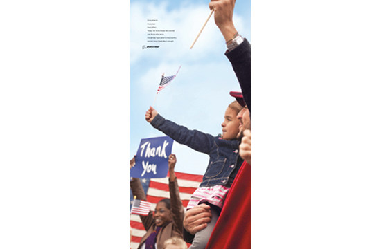 Boeing Employees in New Veterans Day Ad