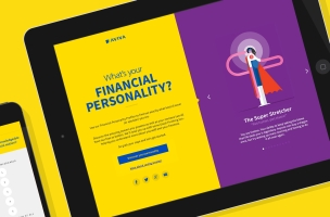 Find Out Your Financial Personality with Razorfish's Aviva Profiler