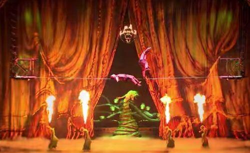 High Wires & Roaring Fires in Eleven's Cirque du Soleil Spot