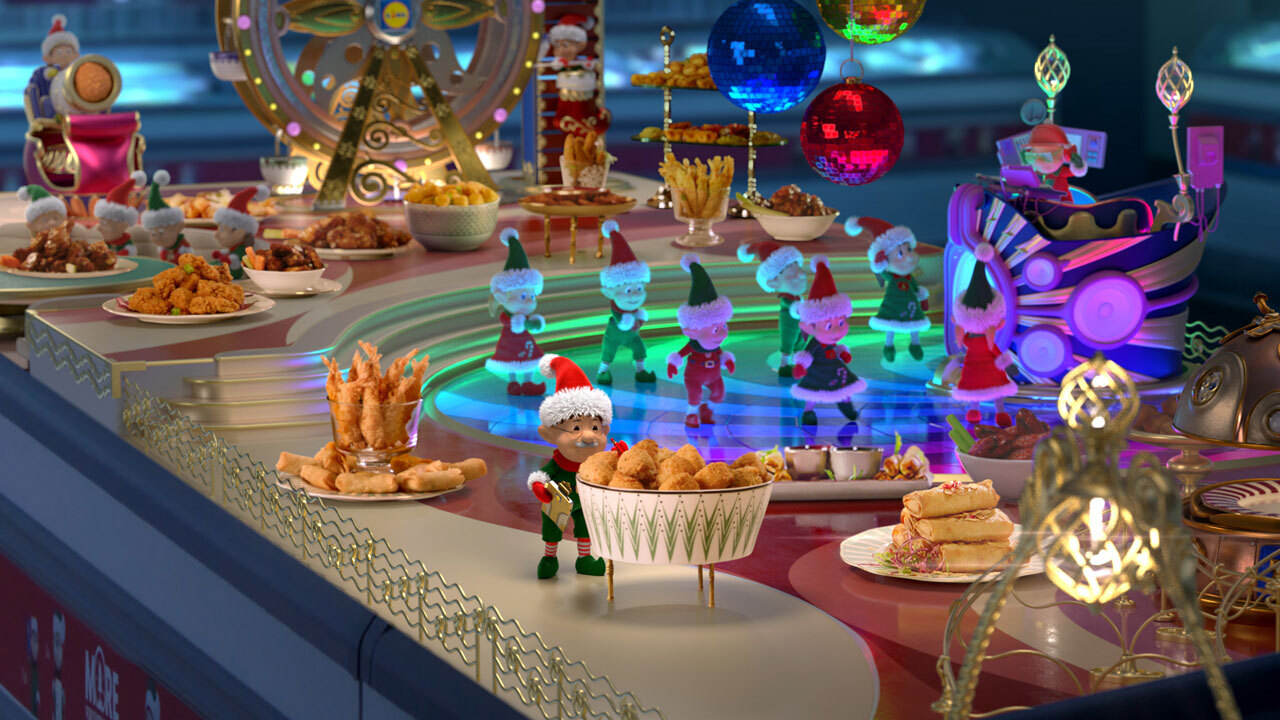Have Your Elf a Merry Lidl Christmas with Piranha Bar's Festive TV Spot