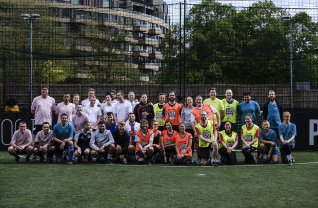 Twelve and Cancer Research UK Celebrate Football Shirt Friday with Industry 5-A-Side
