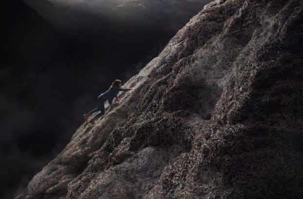 The Ad Council Climbs a Mountain of Cigarettes to Urge Americans to Top Smoking