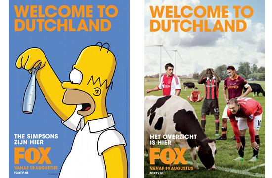 Anomaly Amsterdam's First Campaign for FOX