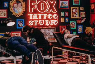 The Simpsons, Family Guy and More Go Skin Deep with FOX's Pop Up Tattoo Studio