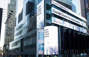 Framestore Helps Morgan Stanley Bank Light Up Times Square
