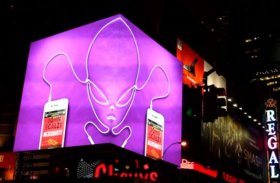 Audible 'Times Square Billboards'
