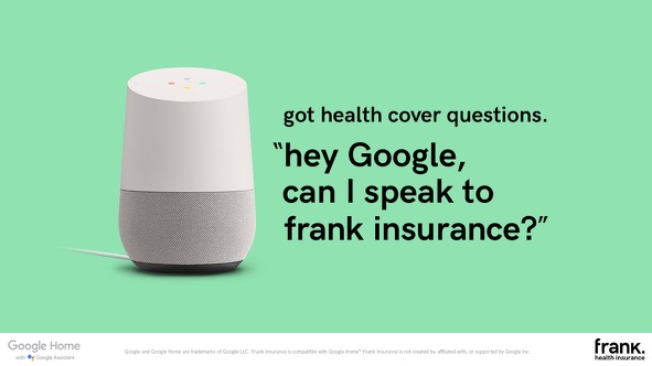 frank Health Insurance's New Voice App Promises Easy Answers to Hard Questions