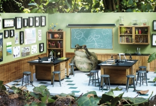 DLKW Lowe's Woodland Teachers Prove 'Dirt is Good' for Persil