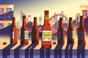 Fuller's Asks Punters to Find Flavour with Frontier Craft Lager Campaign