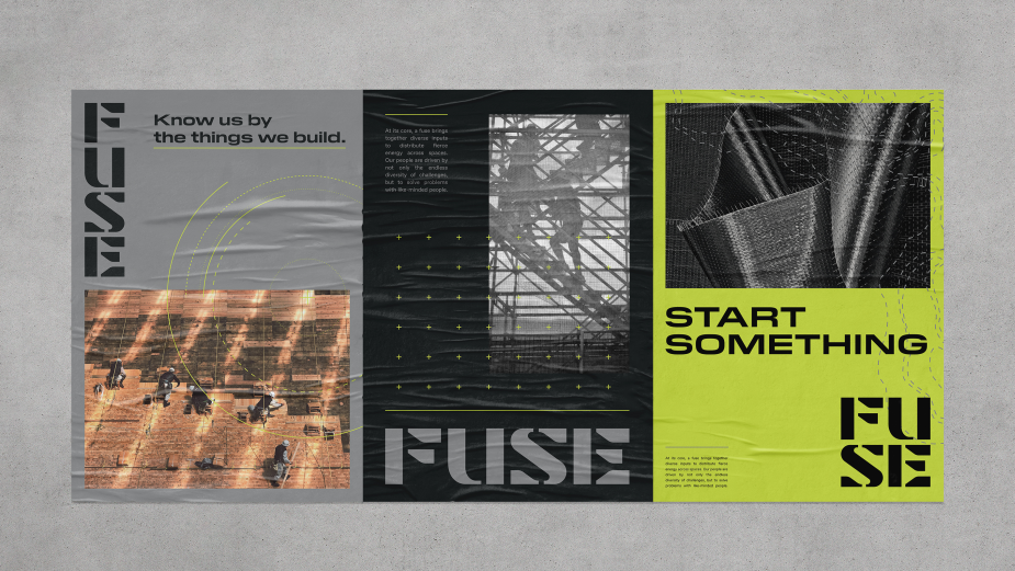 MullenLowe U.S. Designs Bold Brand Identity for Construction Company FUSE Group