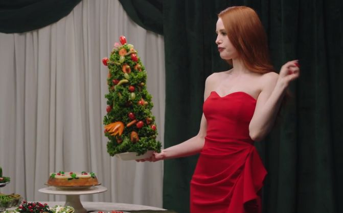Riverdale's Madelaine Petsch Doesn't Give a F*ck in Holiday Campaign by Huge