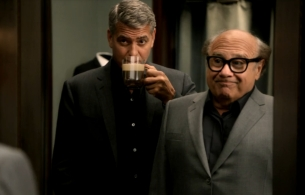 George Clooney Schools Danny DeVito on Being a Gent in New Nespresso Ad