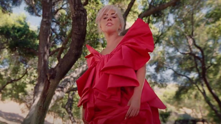 Lady Gaga Fronts Valentino Perfume Campaign Directed by Harmony Korine