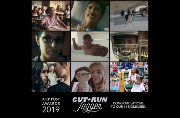 Cut+Run Receives 11 AICP Post Award Nominations