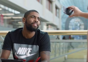 Kyrie Irving Gets His Game On in New Kids Foot Locker Week of Greatness Spot