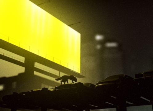A Creature Stalks the Streets in PostPanic's Animated SBTRKT Music Video