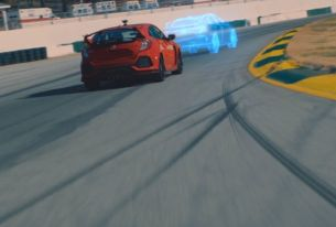 Honda and UNIT9 Pit Pro Racer vs. Pro Gamer with Mixed Reality Race