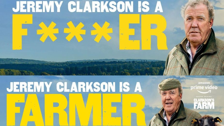 How 'Jeremy Clarkson is a F***er' Promoted His Newest Adventure with Forever Beta