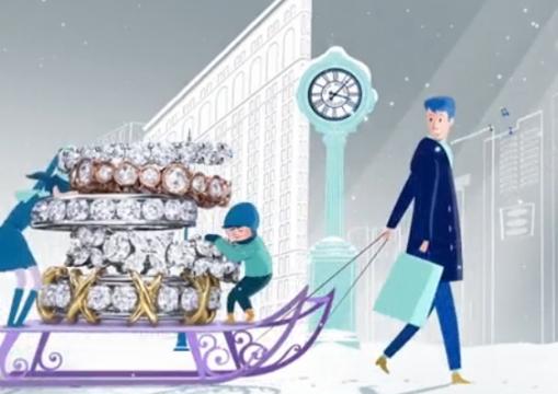 Tiffany & Co.'s New Spot is a Gem-studded Christmas Wonderland
