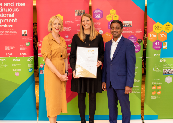 Geometry UK Lands IPA Gold for Outstanding Professional Development