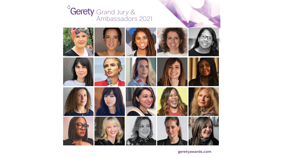 Gerety Awards Launches New Website and Announces UK Grand Jury and Ambassadors for 2021