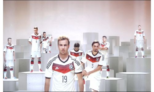 See The Germany Football Team In Action In Stunning Mercedes Ad
