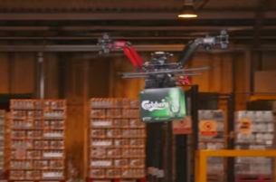 Fancy a Beer on the Go? Then You'll Love the #CarlsbergDrone