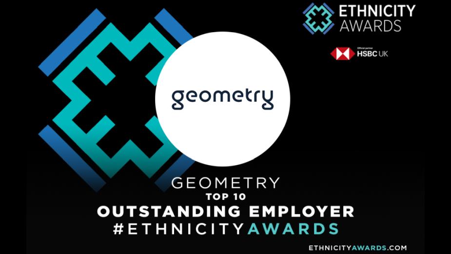Geometry UK Short-Listed at Ethnicity Awards 2020