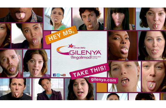 Bold Healthcare Campaign for Gilenya