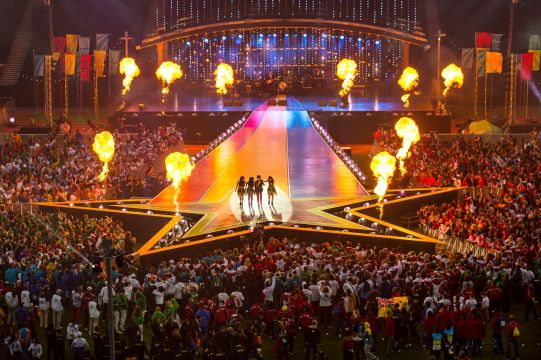 Glasgow 2014 Celebrates With Spectacular Closing Ceremony