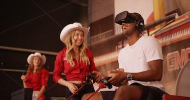GMC's Rangeland Derby VR Experience Reimagines Traditional Chuckwagon Racing