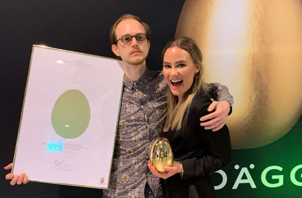 Bannerboy Wins Big at Swedish Guldägget Awards