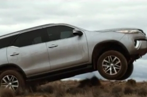 Saatchi Australia Roams Through the Outback to Launch the Toyota Fortuner